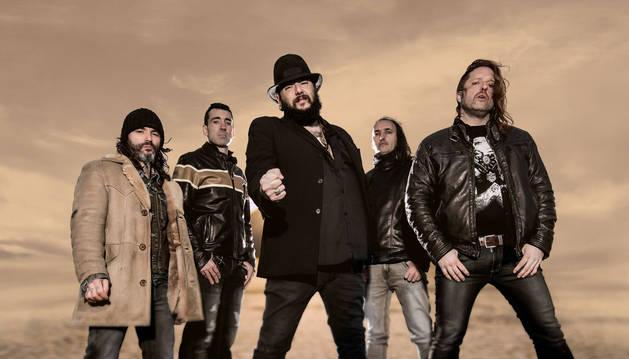Los miembros de Marea, en una fotografía promocional.