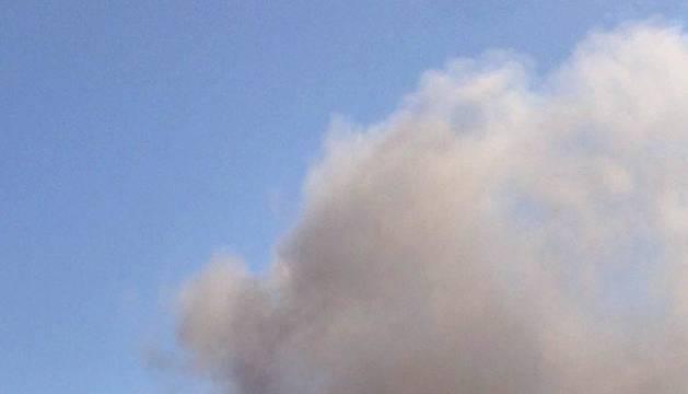 Incendio en las cocinas del Club de Tenis Pamplona