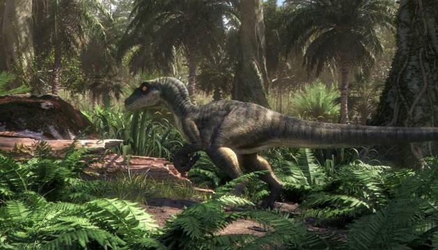 foto de Un momento del trailer de la nueva serie 'Jurassic World: Camp Cretaceous'
