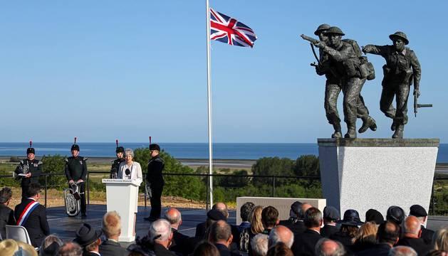 Conmemoración del 75 aniversario del Desembarco de Normandía
