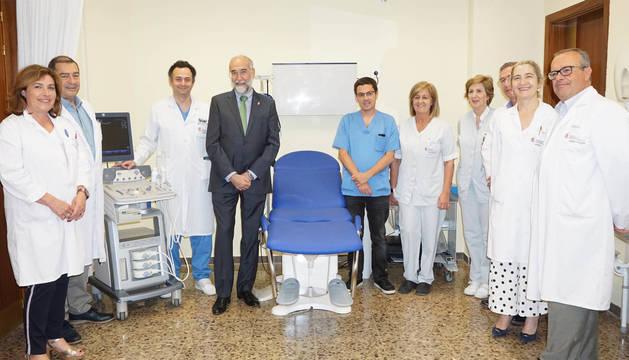 El Hospital Reina Sofía de Tudela incorpora un nuevo equipo técnico de Urología
