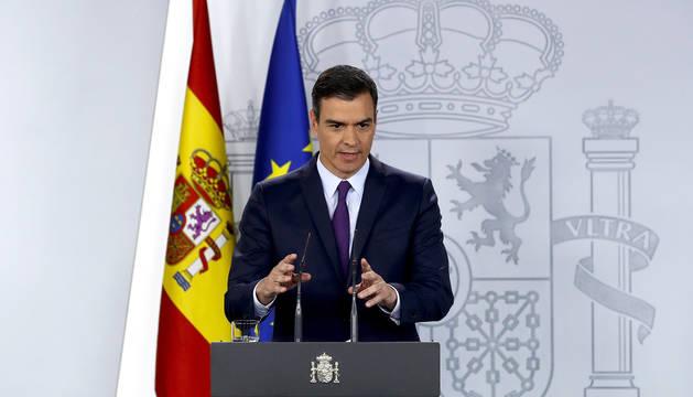 Sánchez garantiza que el PSOE no va a acordar nada con Bildu en Navarra
