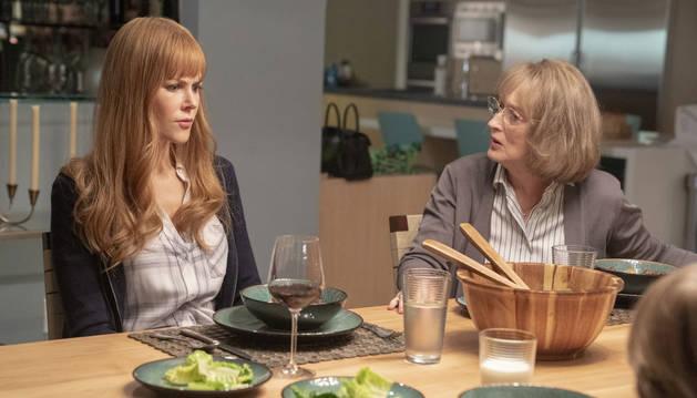 Nicole Kidman y Meryl Streep, en 'Big Little Lies'