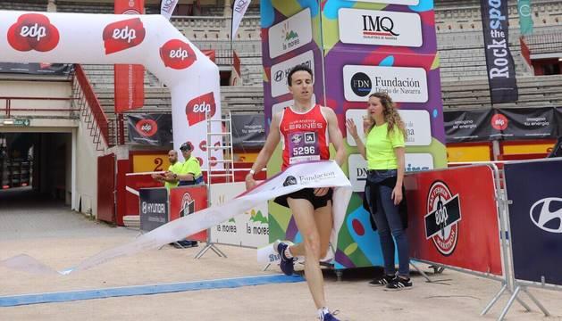 Ganador de la carrera de 5 kilómetros de la San Fermín Marathon.
