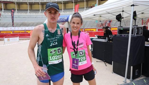 Ganadores de la carrera de 10 kilómetros.