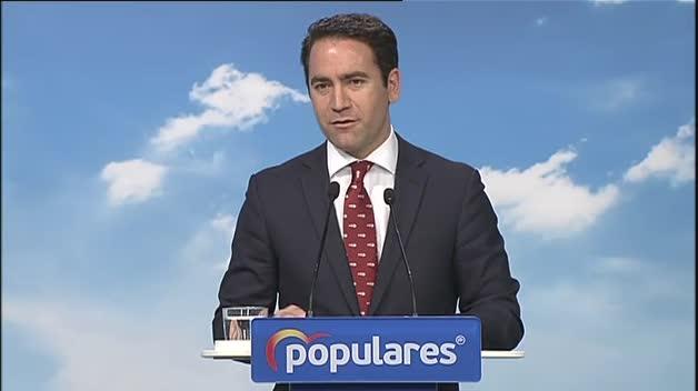 """En el PP """"no sólo no vamos a facilitar la investidura de Sánchez, vamos a dificultarla"""""""