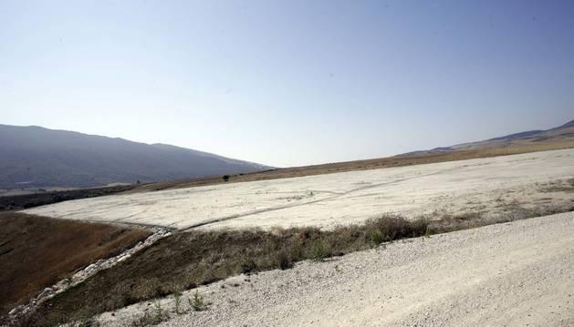 Imagen de archivo de los terrenos, en la que iba a ser cuarta fase de la Ciudad del Transporte, donde se proyecta la planta de tratamiento de residuos.