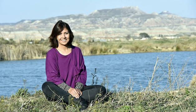 Mayte Espinosa, futura alcaldesa de Buñuel.