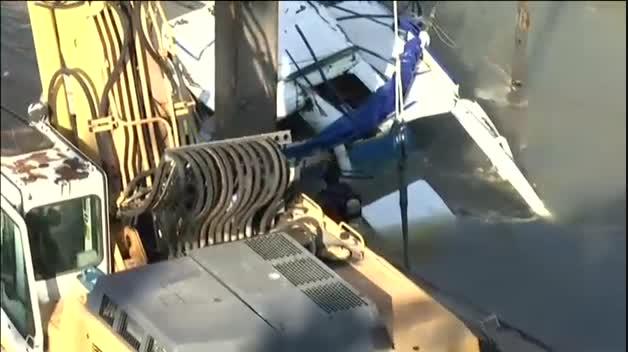Recuperan varios cuerpos del barco hundido en el Danubio