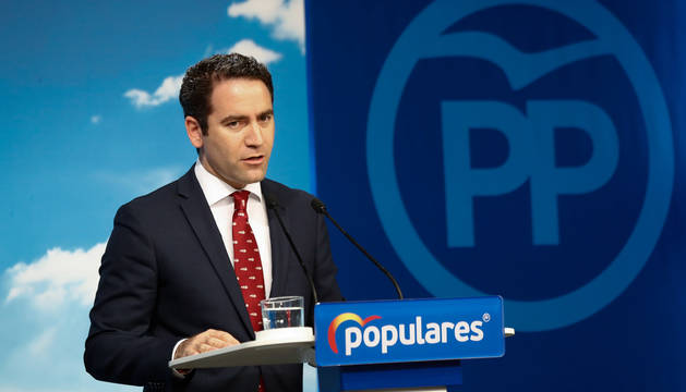 foto de El secretario general del Partido Popular, Teodoro García Egea