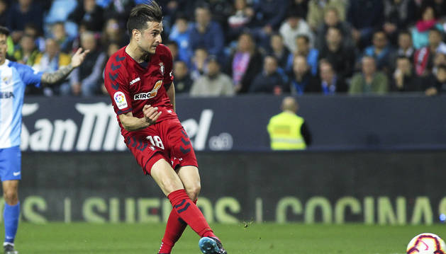 Juan Villar marca el 1-2 en Málaga, el segundo partido más visto.