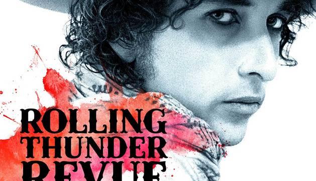 Cartel de 'Rolling Thunder Revue', el documental de Netflix.