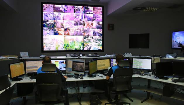 La llamada se gestionó desde la emisora-centralita de la Policía Municipal de Pamplona.