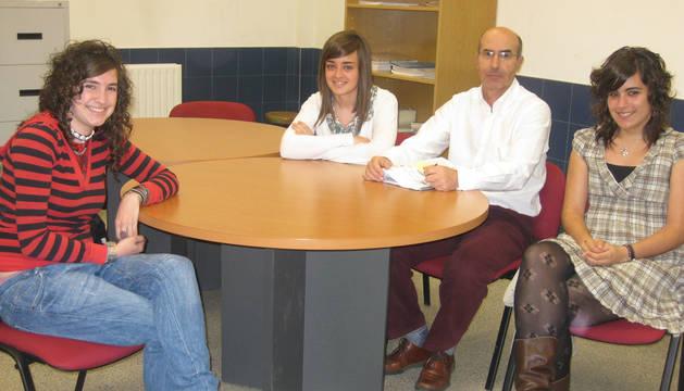 2009: Galardón para tres alumnas del IES Alaitz