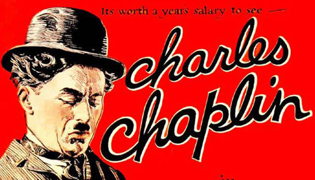 Cartel de Charles Chaplin.