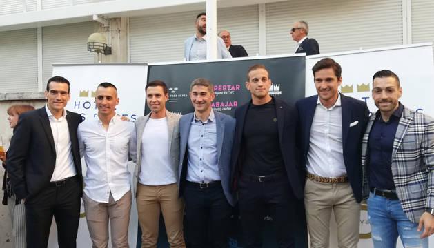 Undiano Mallenco, homenajeado por sus amigos y compañeros de arbitraje