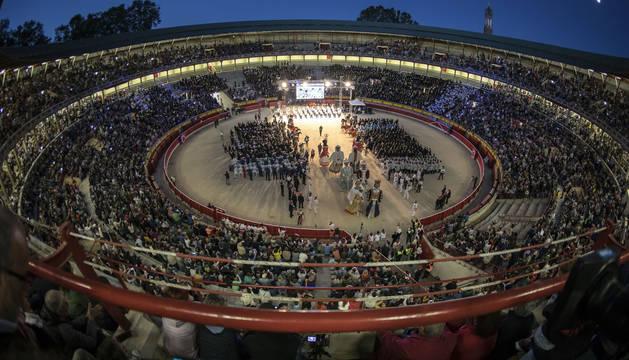 Apoteosis musical de La Pamplonesa ante 10.000 espectadores entregados