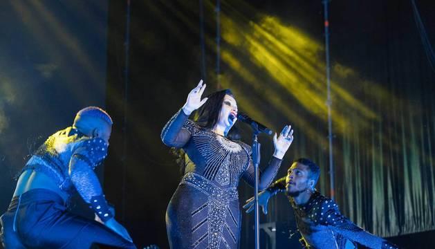 Alaska, durante su concierto en el Ribera Sound.