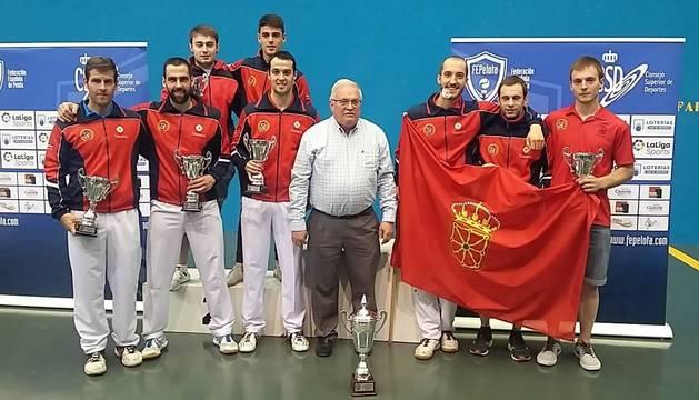 Navarra hace pleno en la Copa del Rey F36M