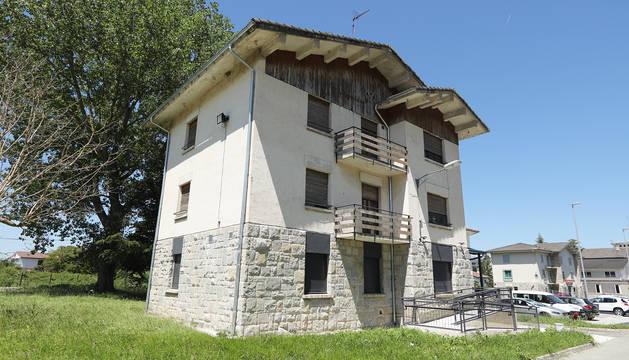 El nuevo albergue de Alsasua tras su inauguración.