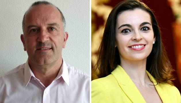 Juan Echenique Huarte, nuevo director de Alcaldía y Marta Urbiola Ochoa,nueva jefa de Protocolo.
