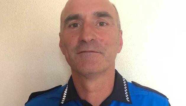 Javier Goya Espronceda, nuevo jefe de la Policía Municipal de Pamplona.