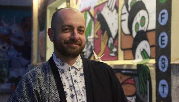 Alex Pler inició su conexión con la cultura japonesa con el manga, siguió con los samuráis, la cultura del bushido, autores japoneses...