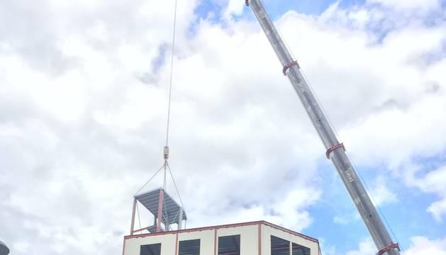 Un edificio de Carlos III crece en tres plantas