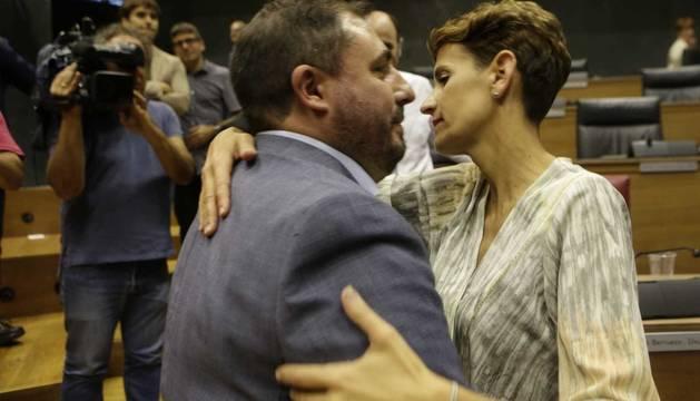 El PSN apoya a Geroa Bai para la presidencia del Parlamento de Navarra