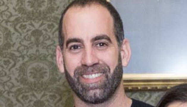 Abel Zardoya Santos, profesor de educación especial en el colegio Torre Monreal de Tudela.