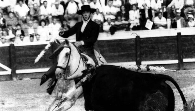 Alternativa de Pablo Hermoso de Mendoza en 1989