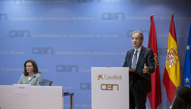 Conferencia del presidente de Caixabank en la CEN.