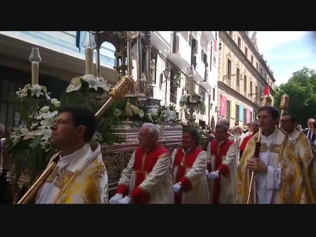 Procesión del Corpus Christi en Pamplona