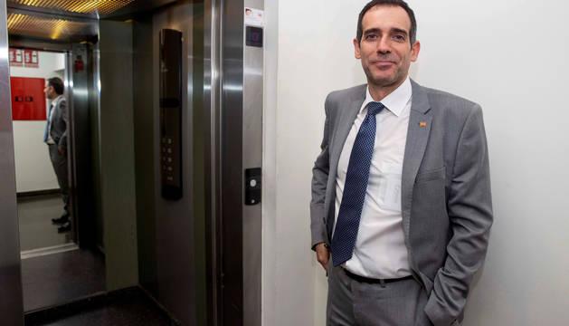 Foto del portavoz del grupo parlamentario de Vox en la Asamblea Regional de Murcia, Juan José Liarte.