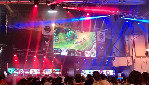 Imagen del Madrid Gaming Expo celebrado el año pasado.