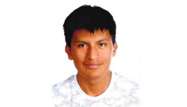 Foto del joven desaparecido en Tudela facilitada por las autoridades.