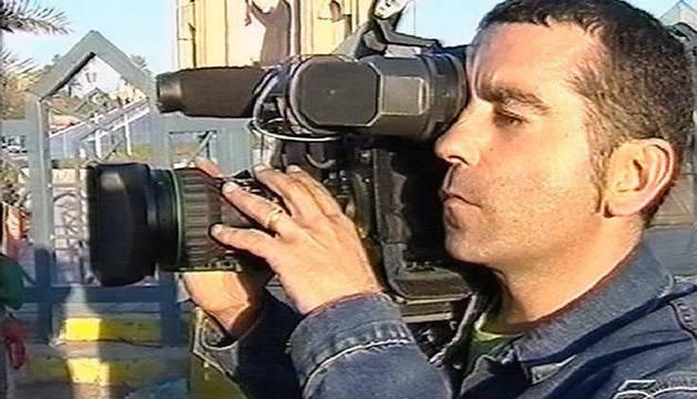 Foto del cámara de Telecinco José Couso, asesinado por disparos de las tropas estadounidenses en Irak.
