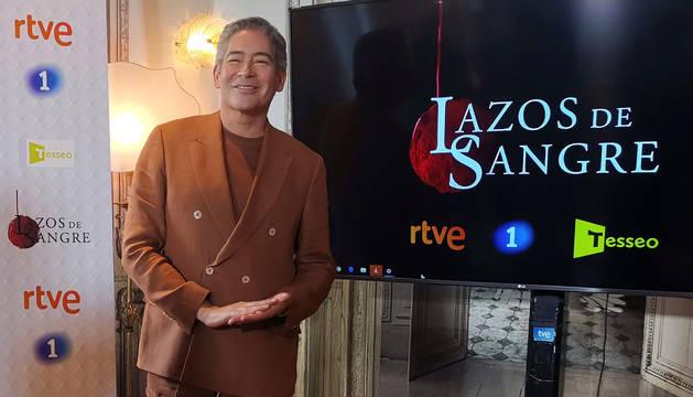 foto de Boris Izaguirre, presentador de la nueva edición de la serie documental 'Lazos de sangre'