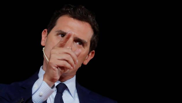 Albert Rivera sugiere al sector crítico de Cs que presente su propio partido