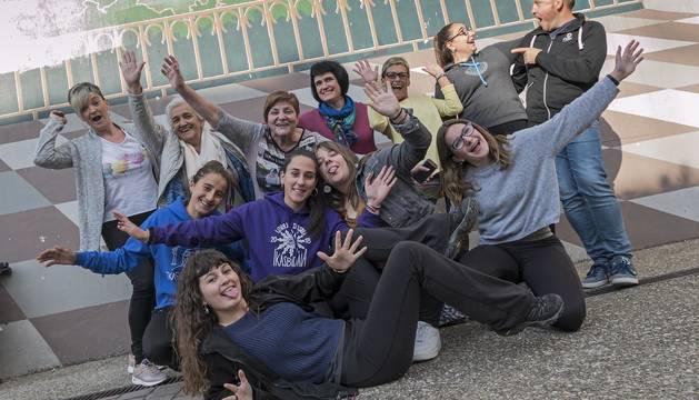 Fotos de los grupos de teatro de Tierra Estella