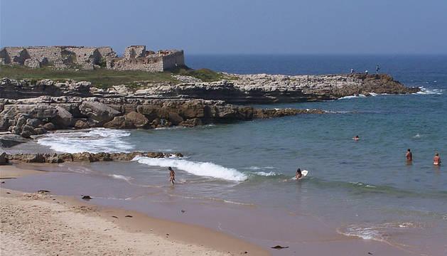 La playa de la Maruca