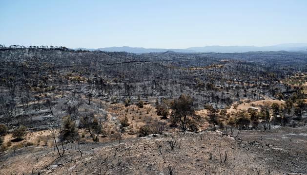 Tras el incendio de Tarragona