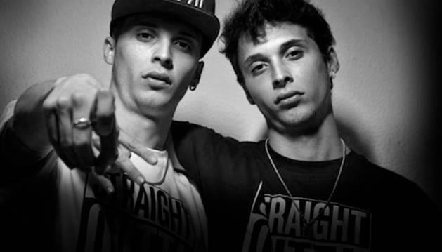 Los raperos Ayax y Prok. CEDIDA