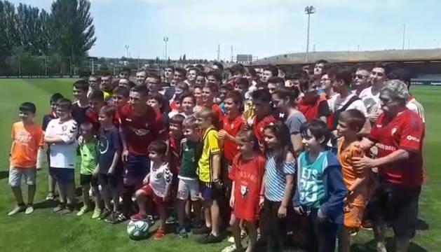 Presentación de Chimy Ávila con Osasuna