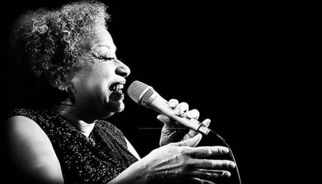La cantante de jazz Michele Hendricks. CEDIDA