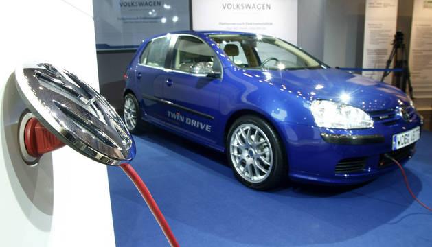 Nueva generación de coches de motor eléctrico de Volkswagen Golf
