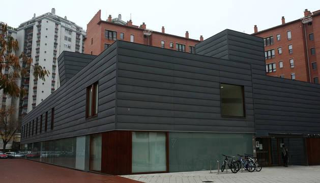 Imagen del centro de salud de San Juan, en Pamplona.