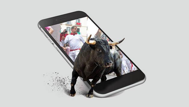 Toda la información de San Fermín, en tu móvil