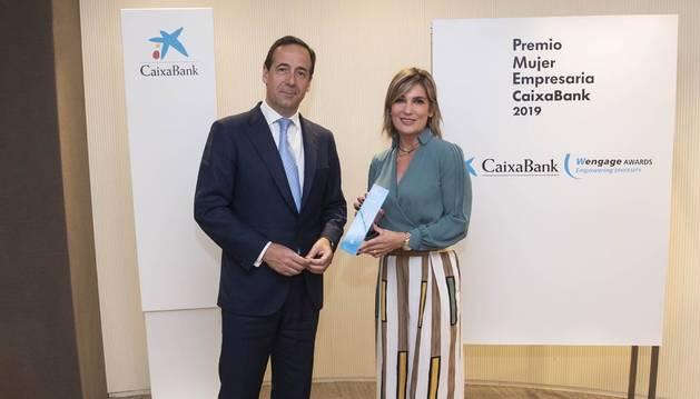 Laura Sandúa recibe el Premio Mujer Empresaria en Navarra 2019