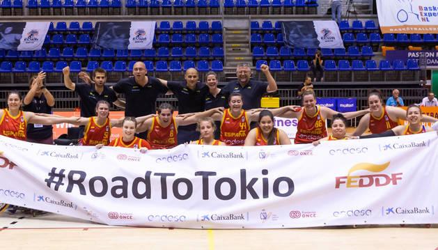 La selección femenina de baloncesto en silla de ruedas logra el billete para los Juegos
